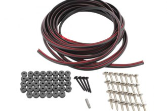 Bushwacker® - Hardware Kit for Extend-A-Fender Flares (Front and Rear Set)