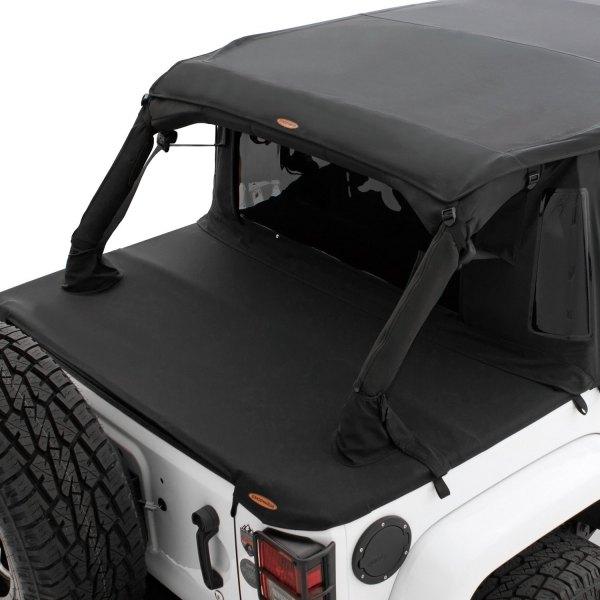 Jeep Soft Tops >> Bushwacker Trail Armor Twill Flat Back Soft Top