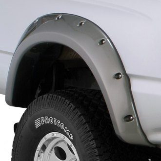 Bushwacker® - Cut-Out™ Matte Black Front and Rear Fender Flares