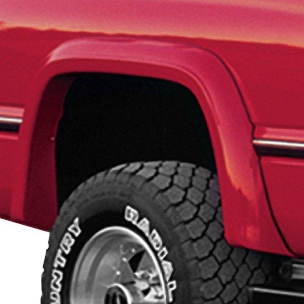 Bushwacker® - Extend-A-Fender™ Matte Black Front and Rear Fender Flares