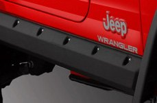 Bushwacker® - Trail Armor Pocket Style Rocker Panels