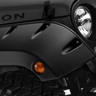 Bushwacker® - Pocket Style Fender Flares on Jeep Wrangler