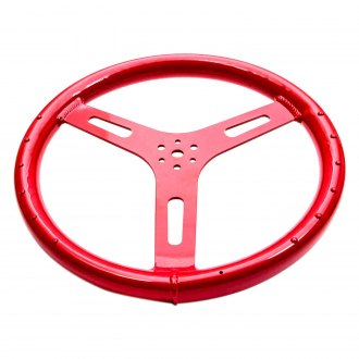 ButlerBuilt® - Red Aluminum Steering Wheel