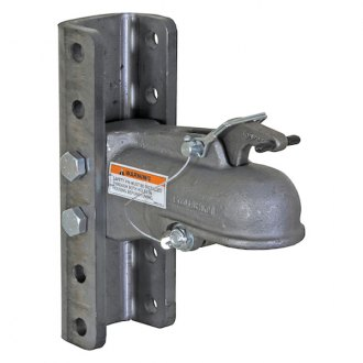 Buyers® - Adjustable Heavy-Duty Cast Steel Coupler with 5-Position Channel