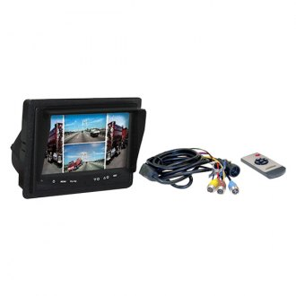 "Buyers Products® - Rear View System with 7"" Monitor and Surface Mount Camera"