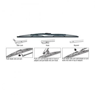"C.R. Laurence® - 22"" Metalist Tridon™ Windshield Wiper Blade"