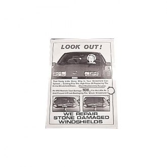 C.R. Laurence® - Windshield Repair Counter Top Display Poster