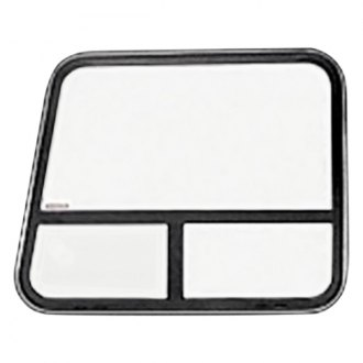 "C.R. Laurence® - Angled T-Slider Van Bay Window, Passenger Side Rear 35-1/4"" x 22-1/4"" with 1/8"" Trim Ring"