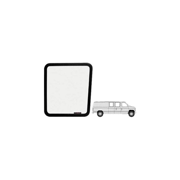 C r laurence vw40141 fixed van door window 60 side for 18 x 60 window