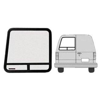 C.R. Laurence®   Rear Driver Side Angled T Slider Van Bay Door Window