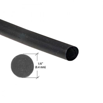 "C.R. Laurence® - 1/4"" Round Locking Strip for Two-Piece Weatherstrip"