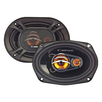 "Cadence® - 6""x9"" 3-Way Coaxial Speakers 200W Peak"