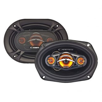 "Cadence® - 6""x9"" 4-Way Coaxial Speakers 250W Peak"