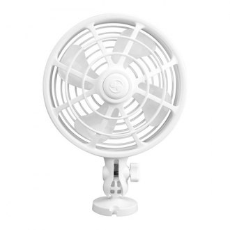 "Caframo® - White Camano 12V 1-Speed 6"" Fan"
