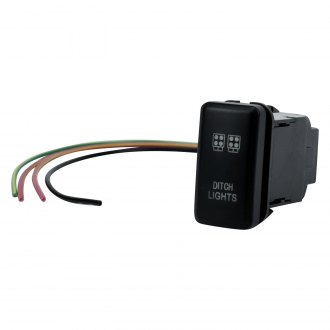 Cali Raised Led Oem Style Ditch Lights Switch