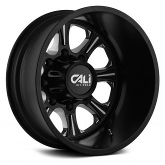 CALI OFFROAD® - 9105 BRUTAL DUALLY Satin Black with Milled Accents