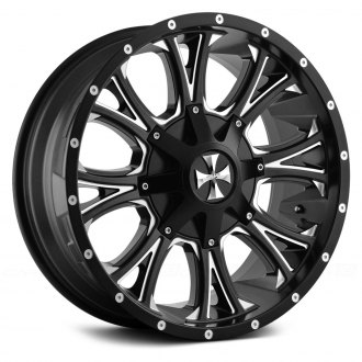 CALIOFFROAD® - AMERICANA Satin Black with Milled Accents