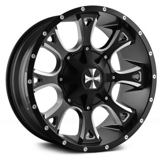 CALI OFFROAD® - ANARCHY Satin Black with Milled Accents