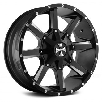 CALIOFFROAD® - BUSTED Satin Black with Milled Accents
