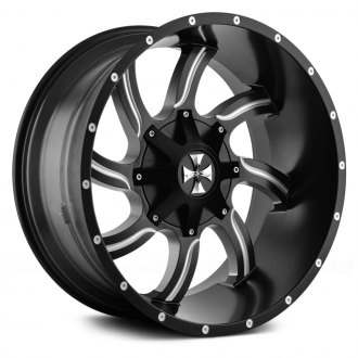 CALIOFFROAD® - TWISTED Satin Black with Milled Accents