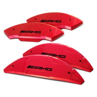 Caliper Synergy® - Sand Blasted Red Caliper Covers