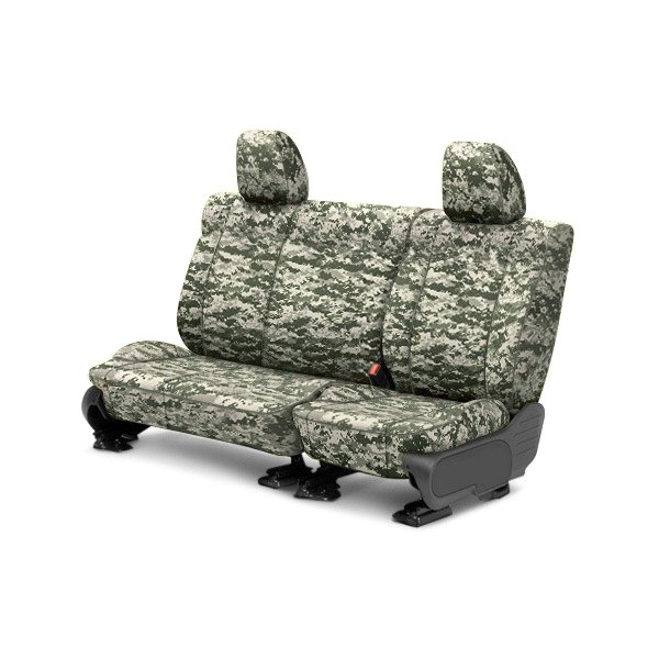 CalTrend® - 2nd Row Camouflage Digital Forest Custom Seat Covers