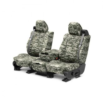 CalTrend® - 1st Row Camouflage Custom Seat Cover