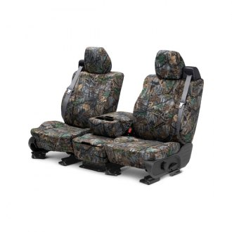 Image may not reflect your exact vehicle! CalTrend® - Front Camouflage Hunter Custom Seat Covers