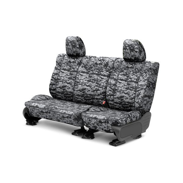 CalTrend® - Camouflage 2nd Row Digital Urban Custom Seat Covers