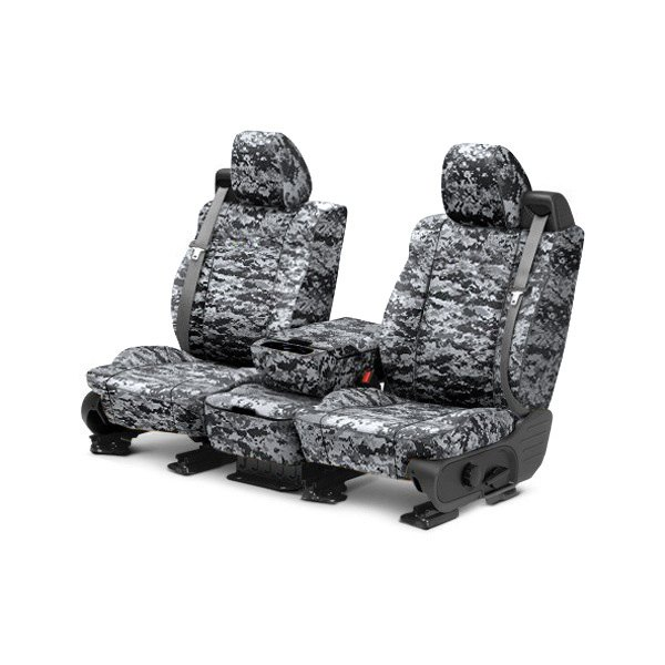 CalTrend® - 1st Row Camouflage Digital Urban Custom Seat Covers