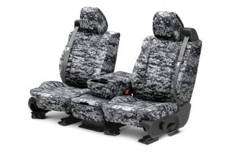 CalTrend® TY441-97KU - Front Row Camouflage Digital Urban Custom Seat Covers