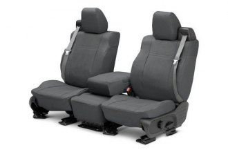 CalTrend® CV421-03DA - Front Row DuraPlus Charcoal Custom Seat Covers