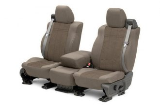 CalTrend® - 1st Row EuroSport Beige Custom Seat Covers