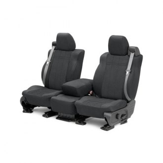 CalTrend� - EuroSport Charcoal Custom Seat Covers