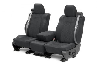 CalTrend® CV421-03HH - Front Row EuroSport Charcoal Custom Seat Covers