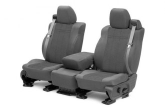 CalTrend® TY441-08HH - Front Row EuroSport Light Gray Custom Seat Covers
