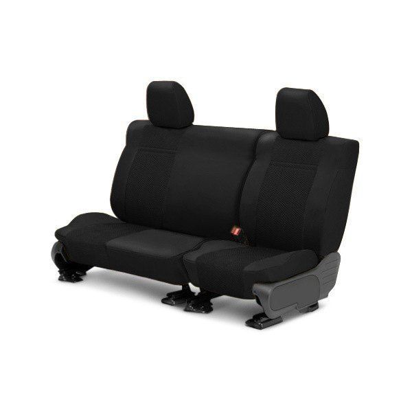 CalTrend® - 2nd Row EuroSport Black Custom Seat Covers