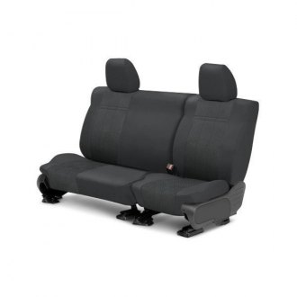 CalTrend� - Rear Row EuroSport Charcoal Custom Seat Covers