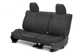 CalTrend® SU119-03HH - Rear Row EuroSport Charcoal Custom Seat Covers