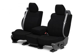 CalTrend® CV334-01LD - 1st Row Leather Custom Seat Cover