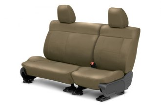 CalTrend® MA110-06LD - Center Row Leather Beige Custom Seat Covers