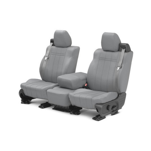 CalTrend® - 1st Row NeoPrene Light Gray Custom Seat Covers