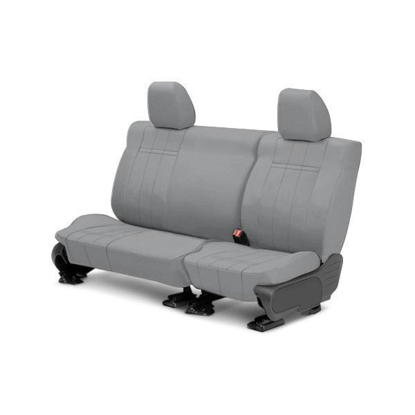 CalTrend® - 3rd Row NeoPrene Light Gray Custom Seat Covers