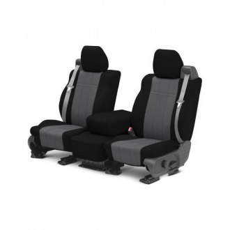 CalTrend� - NeoSupreme Black with Charcoal Custom Seat Covers
