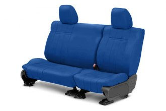 CalTrend® - NeoSupreme 2nd Row Blue Custom Seat Covers