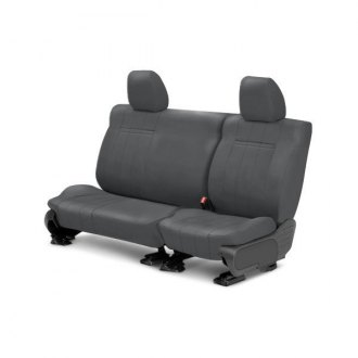 CalTrend� - Rear Row NeoSupreme Charcoal Custom Seat Covers