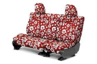CalTrend® - NeoSupreme 2nd Row Hawaiian Red Custom Seat Covers