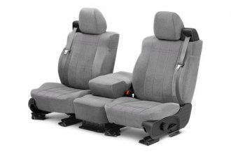 CalTrend® DG243-08RA - 1st Row O.E. Velour Custom Seat Cover