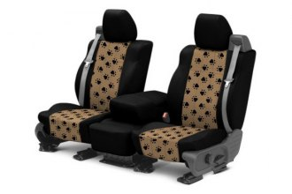 CalTrend® NS244-06AA - 1st Row Pet Print Custom Seat Cover