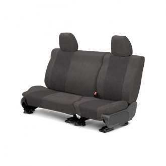 CalTrend� - Rear Row SuperSuede Charcoal Custom Seat Covers